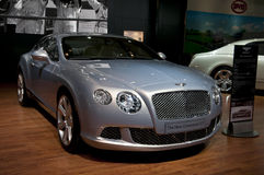 2011 Bentley Continental GT at NAIAS Royalty Free Stock Photos