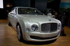 2011 Bentley Mulsanne bij NAIAS Royalty-vrije Stock Fotografie