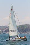 2011 bosphorus inkasowy filiżanki żeglowanie w Obrazy Royalty Free