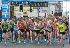 2011 Buba Great Yorkshire Run Stock Photos