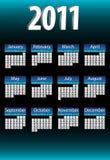2011  Calendar. Stock Photography