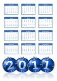 2011 calendar Stock Photos