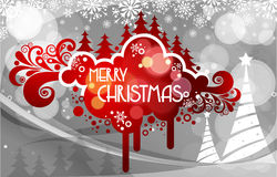 2011 card beautiful. Illustration of chritsmas and new year Royalty Free Stock Photos