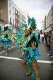 2011, carnaval de Notting Hill Imagen de archivo libre de regalías