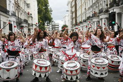 2011, carnaval de Notting Hill Foto de Stock Royalty Free