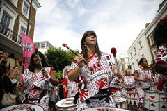 2011, carnaval de Notting Hill Fotografia de Stock Royalty Free