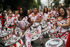 2011, carnaval de Notting Hill Foto de Stock