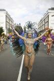 2011, carnevale del Notting Hill Fotografie Stock Libere da Diritti