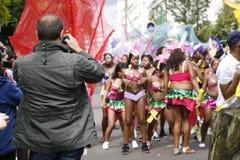 2011, carnevale del Notting Hill Fotografie Stock