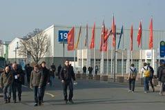 2011区cebit 免版税库存照片