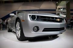 2011 Chevrolet Camaro bij NAIAS Stock Afbeelding
