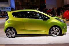 The 2011 CHEVROLET SPARK Stock Images