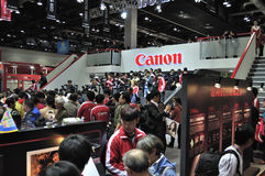 2011 CHINA P&E, Canon Royalty Free Stock Images