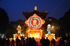 2011 Chinese New Year Temple Fair in chengdu Stock Photos