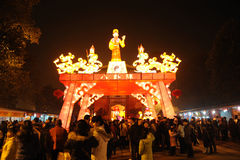 2011 Chinese New Year Temple Fair in chengdu Royalty Free Stock Images