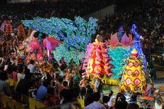 2011 chingay游行新加坡 库存照片