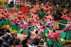 2011 chingay парад singapore Стоковое Изображение RF