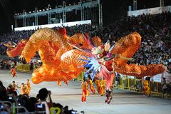 2011 chingay parada Singapore Obraz Stock