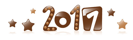 2011 chocolate Stock Images