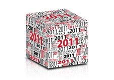 2011 cube Stock Photos