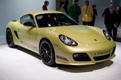 2011 de Kaaiman R van Porsche bij NAIAS Stock Afbeelding