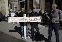 2011 de Marathon van de Stad van New York in Brooklyn Royalty-vrije Stock Foto