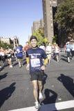 2011 de Marathon van de Stad van New York - Manhattan Stock Foto's
