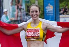 2011 de Marathon van Ottawa Royalty-vrije Stock Foto