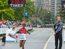 2011 de Marathon van Ottawa Stock Afbeeldingen