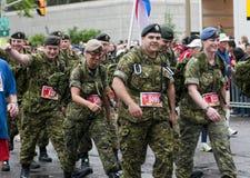 2011 de Marathon van Ottawa Royalty-vrije Stock Afbeelding