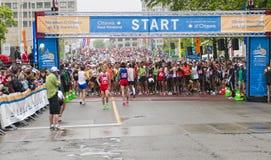 2011 de Marathon van Ottawa Stock Afbeelding