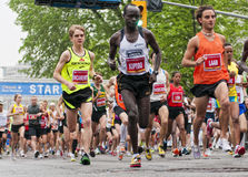 2011 de Marathon van Ottawa Royalty-vrije Stock Foto's