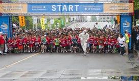 2011 de Marathon van Y Ottawa Royalty-vrije Stock Afbeelding