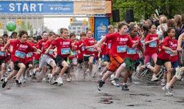 2011 de Marathon van Y Ottawa Stock Foto's