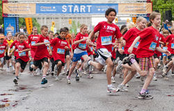 2011 de Marathon van Y Ottawa Royalty-vrije Stock Fotografie