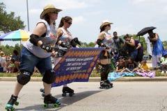 2011 de Parade van de Auto van de Kunst van Houston Stock Fotografie