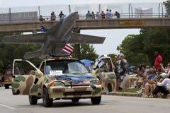2011 de Parade van de Auto van de Kunst van Houston Stock Afbeelding