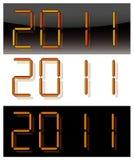 2011 digits Stock Photo