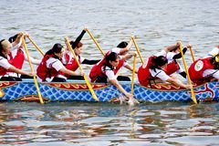 2011 dragon boat festival Stock Photography