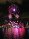 2011 dzień pokazu fajerwerku krajowa parada Zdjęcie Stock