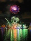 2011 dzień pokazu fajerwerku krajowa parada Zdjęcie Royalty Free