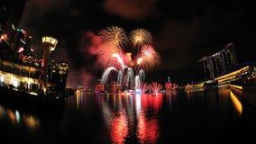 2011 dzień pokazu fajerwerku krajowa parada Obrazy Royalty Free