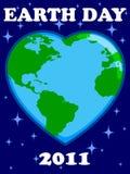 2011 dzień ziemia Zdjęcia Royalty Free