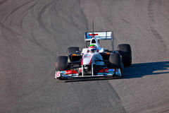 2011 f1 ομάδα του Perez sauber Sergio Στοκ Εικόνες