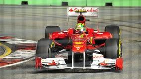 2011 f1 Felipe massa Singapore Zdjęcia Stock