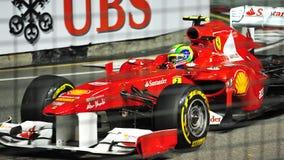 2011 f1 Felipe massa Singapore Obrazy Stock