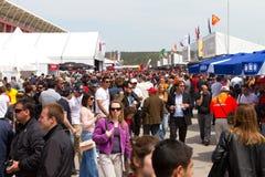 2011 F1 Prix grande turco Imagens de Stock