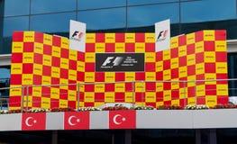 2011 F1 türkisches großartiges Prix Lizenzfreie Stockfotos