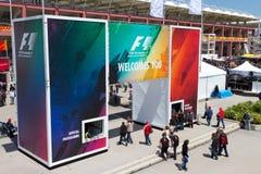 2011 F1 Turkish Grand Prix Royalty Free Stock Photo
