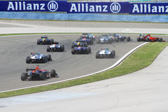2011 F1 Turkse Grand Prix Stock Foto